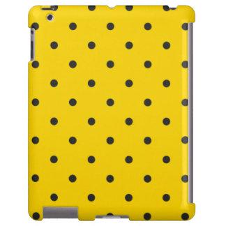caso del iPad 2 3 4 del lunar del amarillo del est