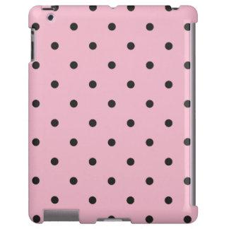 caso del iPad 2/3/4 del lunar del rosa del estilo