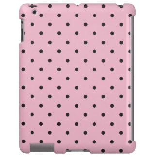 Caso del iPad 2 3 4 del lunar del rosa del estilo