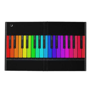 Caso del iPad 2/3/4 del teclado de piano del arco