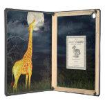 Caso del iPad 2/3/4/Mini/Air DODOcase de la jirafa