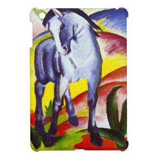 Caso del iPad azul del caballo de Franz Marc mini iPad Mini Cárcasa