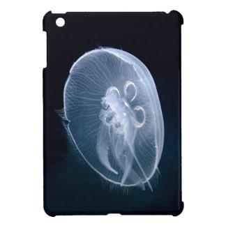 Caso del iPad azul translúcido brillante de las