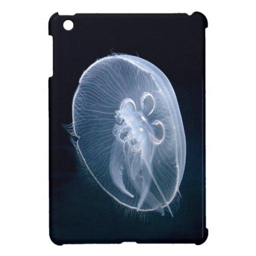 Caso del iPad azul translúcido brillante de las me
