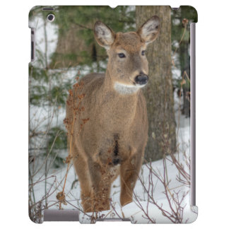 caso del iPad - ciervos atados blanco Funda Para iPad