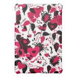caso del iPad con diseño de los corazones quebrado
