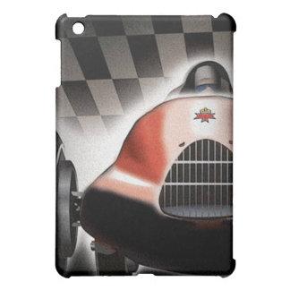 caso del iPad con el coche de competición viejo fr