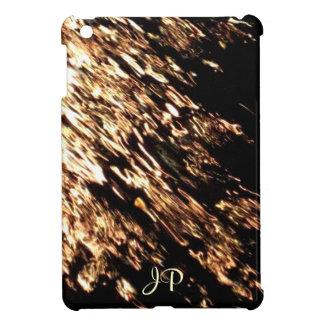 Caso del iPad con monograma del agua del fuego min