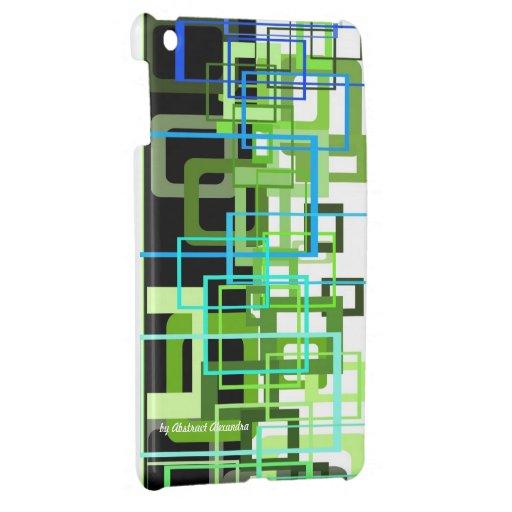 caso del ipad de Alexandra abstracto iPad Mini Protector