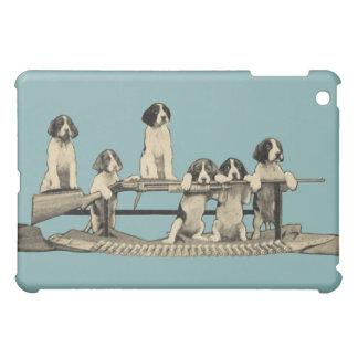 Caso del iPad de Apple de los perritos de Winchest iPad Mini Carcasa