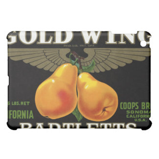 Caso del iPad de Bartletts del ala del oro
