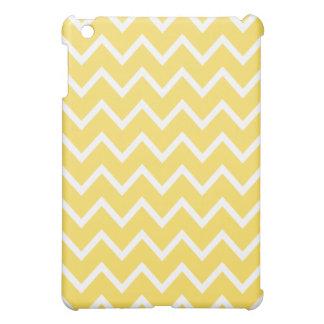 Caso del iPad de Chevron mini - amarillo del ánimo iPad Mini Carcasas