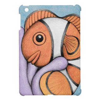 Caso del iPad de Clownfish del bebé mini