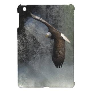 Caso del iPad de Eagle calvo y del animal salvaje