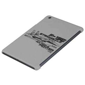 Caso del iPad de Eagle de la huelga de F-15E mini Fundas De iPad Mini