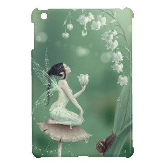 Caso del iPad de hadas de la flor del lirio de los