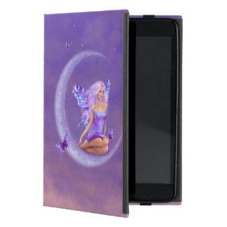Caso del iPad de hadas del arte de la luna de la l iPad Mini Coberturas