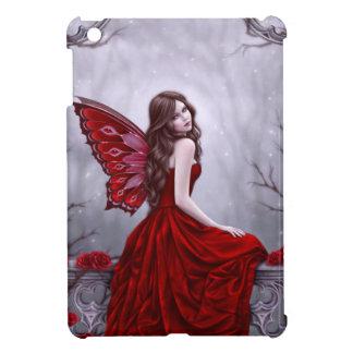 Caso del iPad de hadas del rosa de invierno mini
