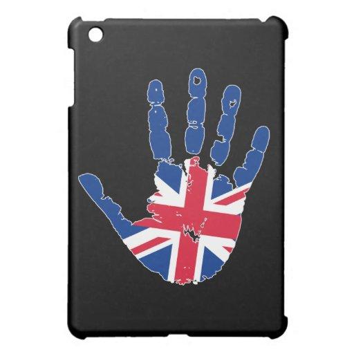 Caso del iPad de Handprint de la bandera de Reino