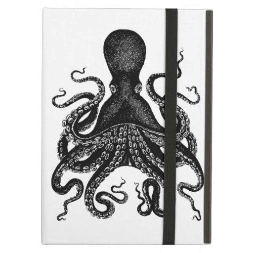 Caso del iPad de Kraken del pulpo de Steampunk del