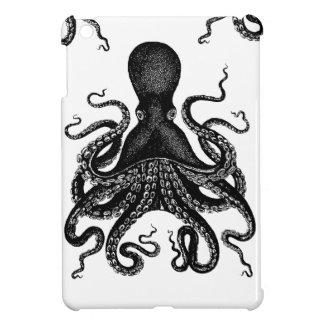 Caso del ipad de Kraken del Victorian del pulpo de iPad Mini Carcasa