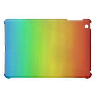 Caso del iPad de la acuarela del arco iris
