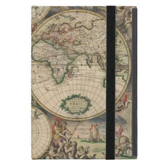 Caso del iPad de la antigüedad del mapa de Viejo iPad Mini Funda