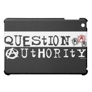 Caso del iPad de la autoridad de la pregunta