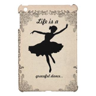 Caso del iPad de la bailarina del vintage mini iPad Mini Cárcasas