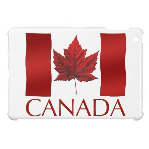 Caso del iPad de la bandera de Canadá del caso del