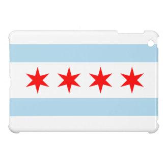 Caso del iPad de la bandera de Chicago mini