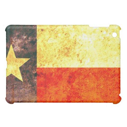 Caso del iPad de la bandera de Tejas