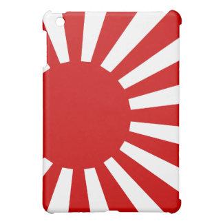 Caso del iPad de la bandera del sol naciente v2 de
