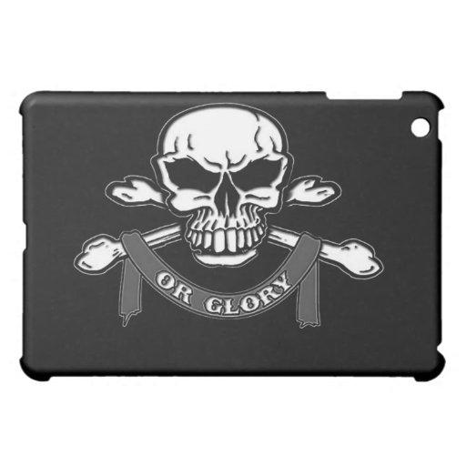 Caso del iPad de la bandera pirata del cráneo N