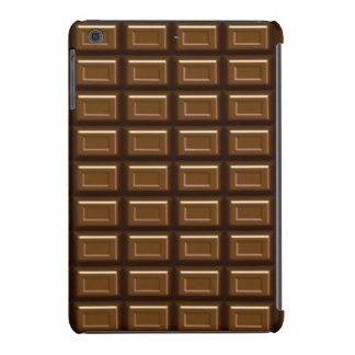 Caso del iPad de la barra de chocolate mini Fundas De iPad Mini