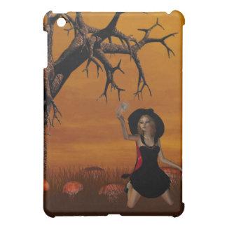 Caso del iPad de la bruja de Halloween
