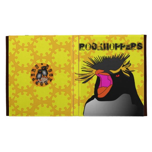 Caso del ipad de la cabeza del pingüino de RockHop