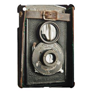 Caso del iPad de la cámara de Brillant del vintage iPad Mini Funda