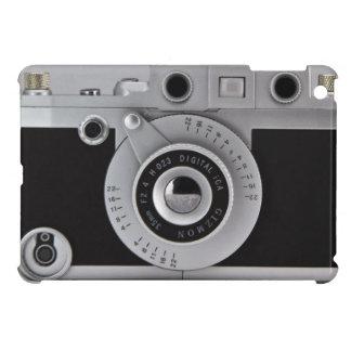 Caso del iPad de la cámara del vintage mini