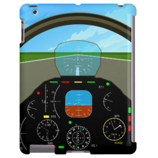 Caso del iPad de la carlinga del aeroplano Funda Para iPad