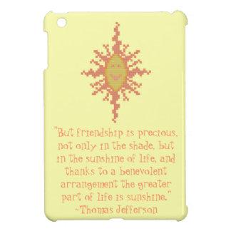 Caso del iPad de la cita de la amistad de Thomas J iPad Mini Coberturas