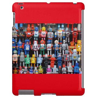 Caso del ipad de la colección del robot del juguet funda para iPad