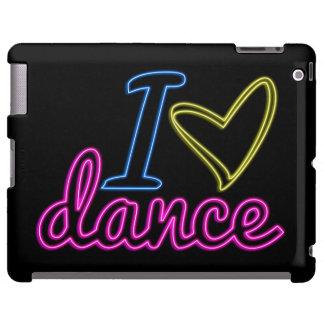 Caso del iPad de la danza del amor del neón I Funda Para iPad