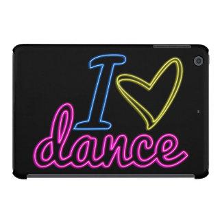 Caso del iPad de la danza del amor del neón I mini Fundas De iPad Mini Retina