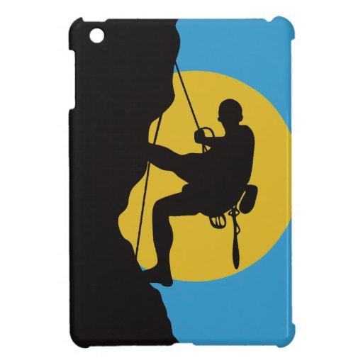 Caso del iPad de la escalada del deporte mini