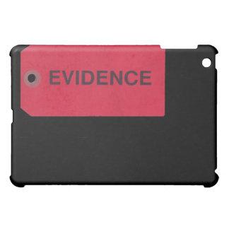 Caso del iPad de la etiqueta de las pruebas