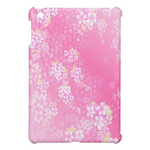 Caso del iPad de la flor de cerezo