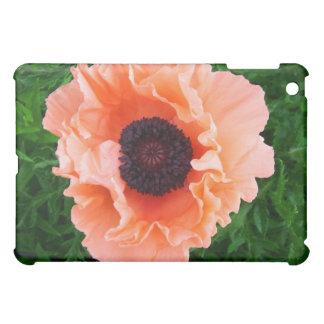 Caso del iPad de la flor de la amapola