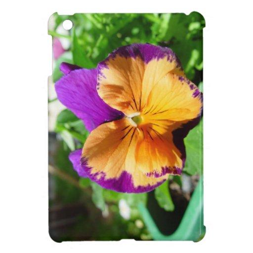 Caso del iPad de la flor del comodín mini iPad Mini Coberturas