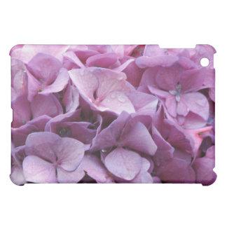 Caso del iPad de la flor del Hydrangea